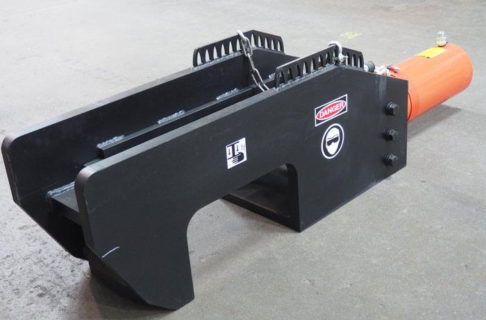 75 Ton Hydraulic Pin Press TB1500 | Tracbuster