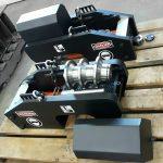 hydraulic cylinder push pins