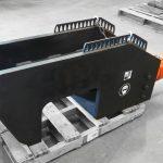 150 Ton Portable Track Pin Press D11 Apron Feeder Press